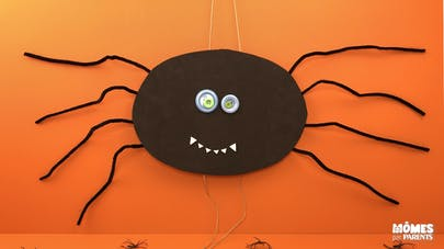Décoration araignée mobile d'Halloween