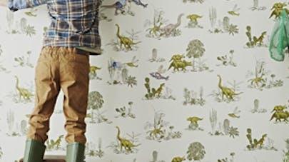 Décoration de chambre dinosaure