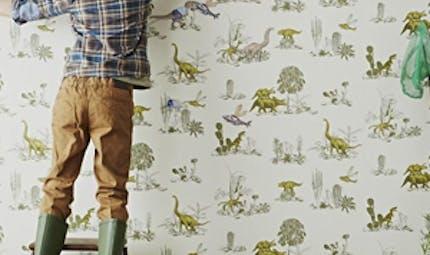 Décoration de chambre thème dinosaure