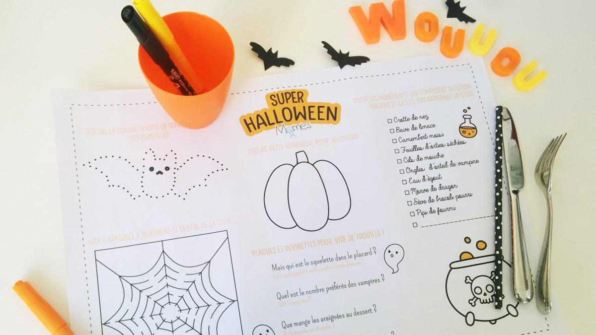 decoration Halloween à imprimer