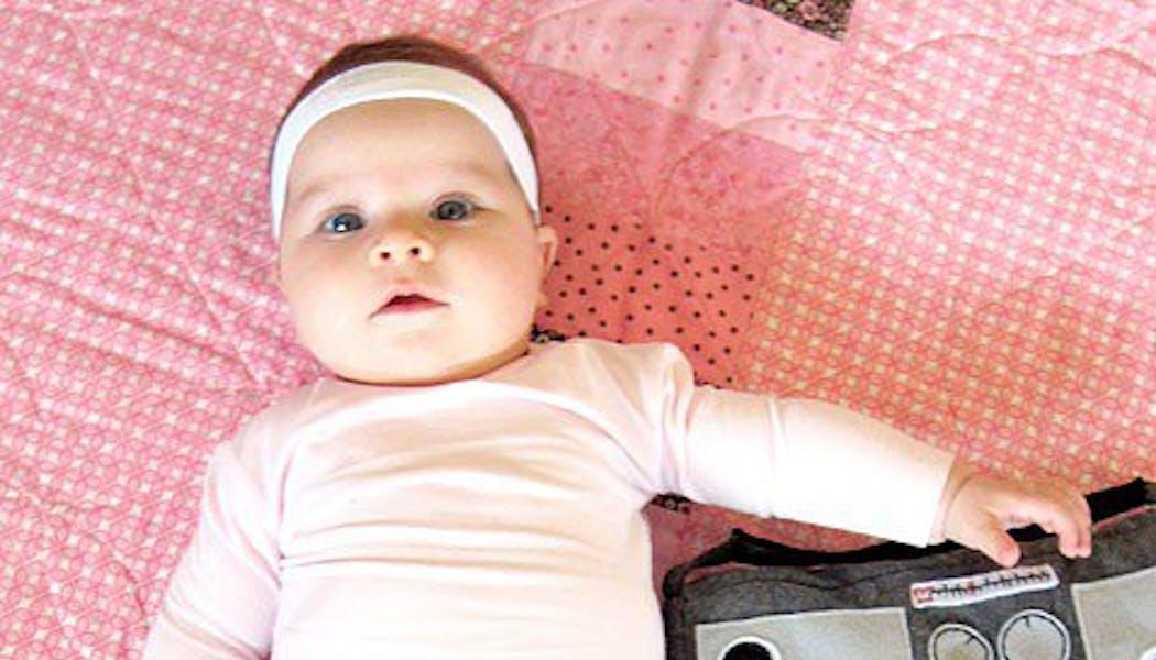 Déguisement bébé aerobic