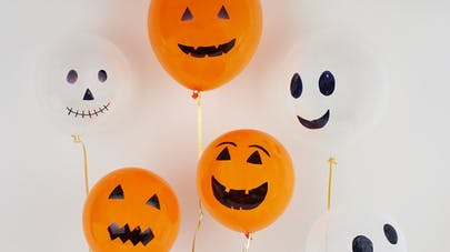 ballons halloween bricolage