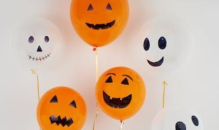Des ballons pour Halloween