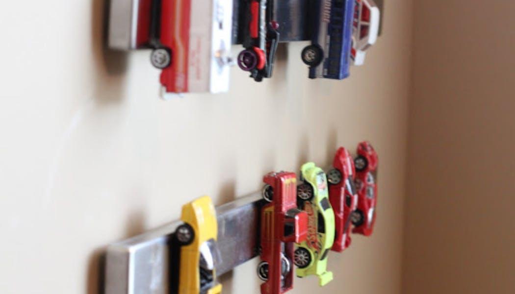 Des barres aimantées pour jolies petites       voitures