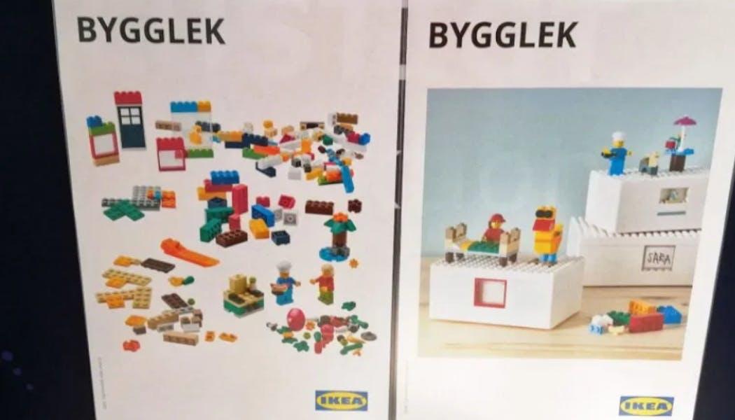 Des boîtes Lego pour motiver les enfants à       ranger