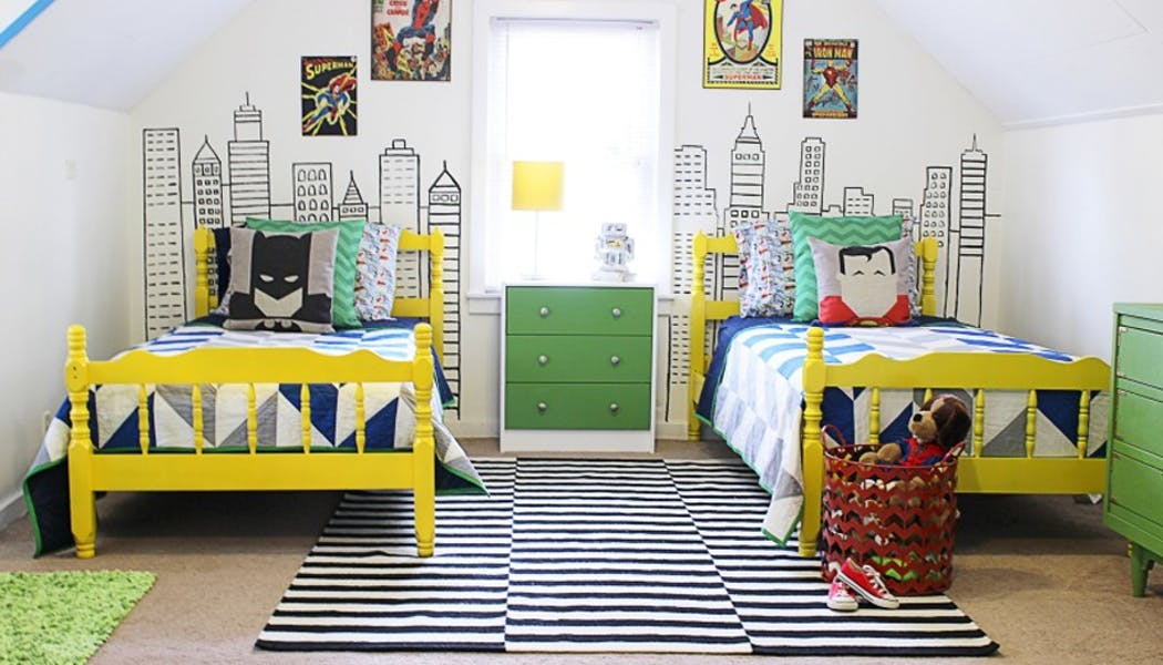 chambre super hero facile