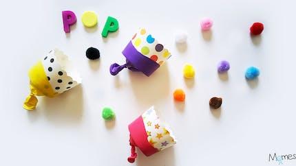 Des canons à pompons / confettis