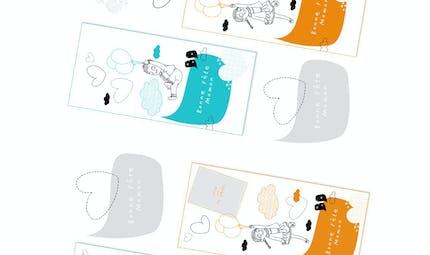 """Des cartes """"Bonne fête Maman"""" à imprimer"""