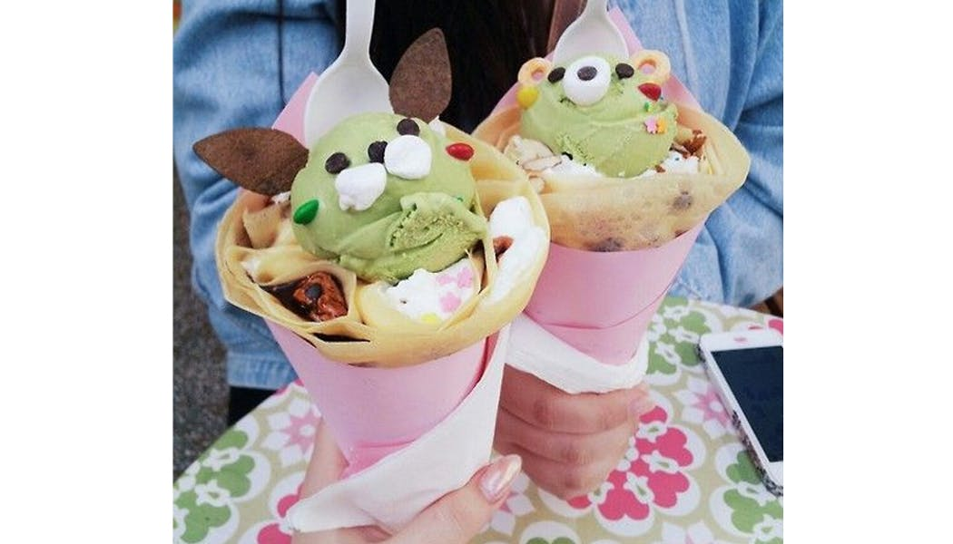 crêpes rigolotes glaces kawaii chandeleur mardi gras         carnaval