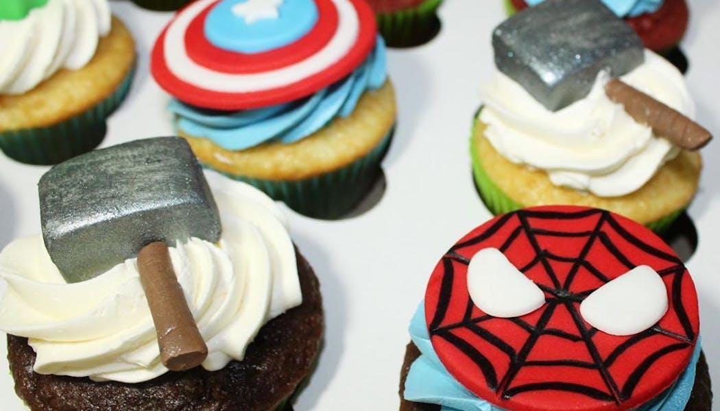 Des cupcakes dignes d'un pro
