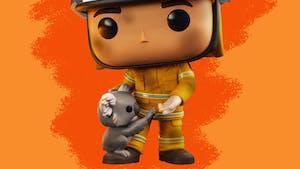 Des figurines Funko Pop en hommage aux pompiers australiens et pour aider les animaux !