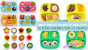 Des idées de repas simples et funky pour manger équilibré !