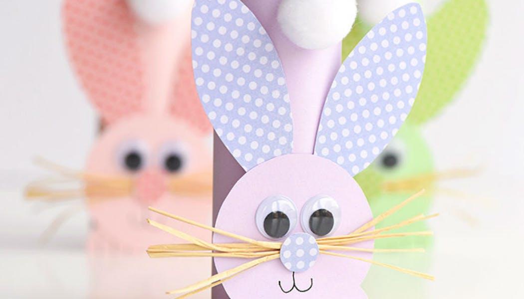 Des lapins de Pâques nés de la récup'