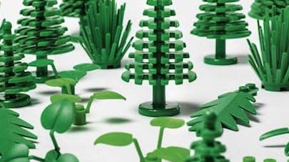 Lego écolo bioplastique canne à sucre