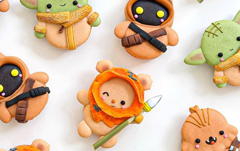 macarons mignons personnages pop culture katrina       moon