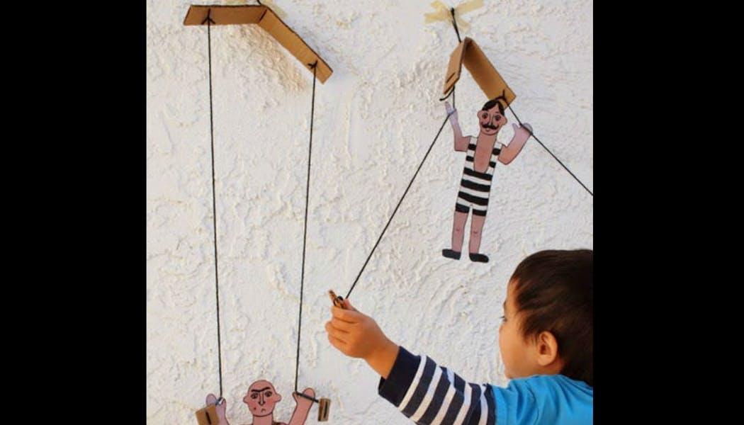 Des marionnettes « esprit cirque »