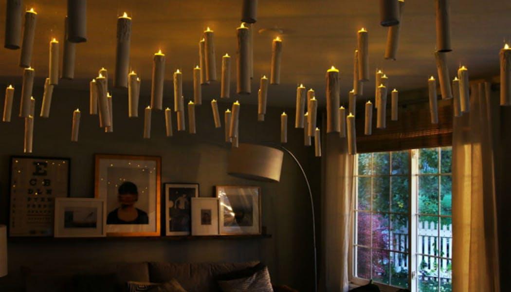 Des merveilleuses bougies flottantes