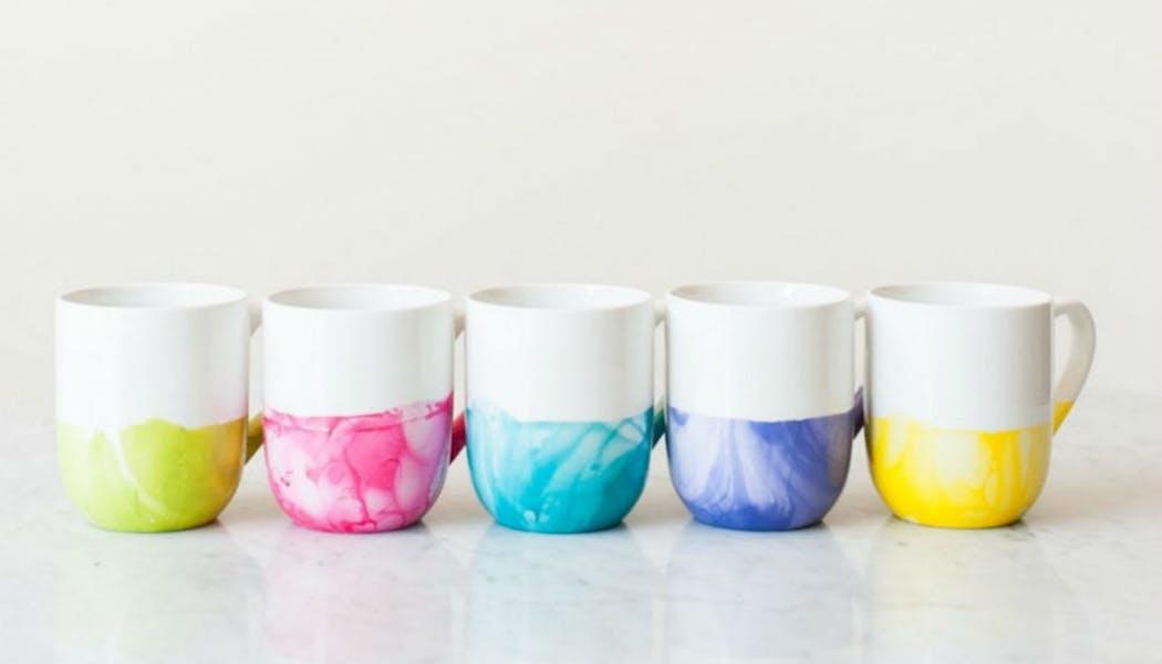 Des mugs somptueux
