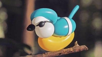 oiseaux sculptures ballons terry james cook
