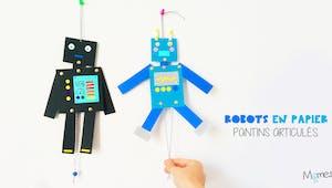 Des pantins robots articulés