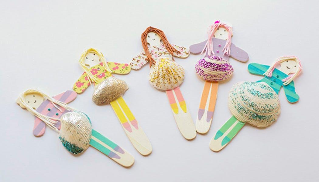 poupées coquillages
