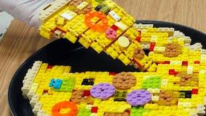 Des recettes animées entièrement en Lego