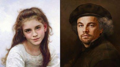 stars dans 30 peintures classiques Design Crowd