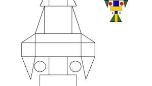 Dessin géométrique : exercice niveau 1