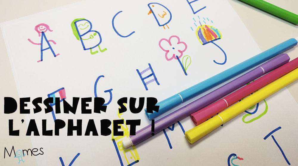 Dessiner Avec L Alphabet Momes Net