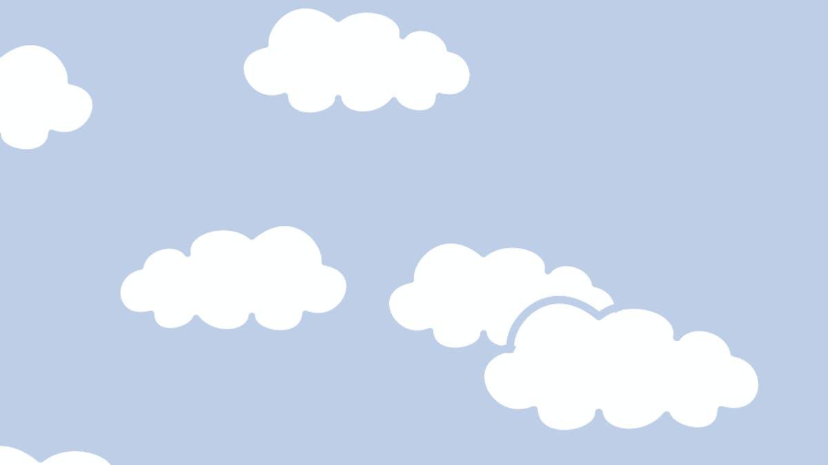 nuage ciel dessin