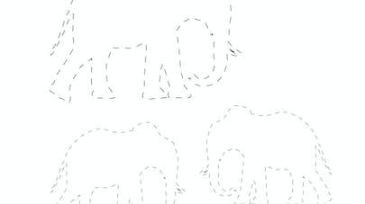 dessiner les éléphants