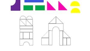 Dessins géométriques : exercice niveau 2