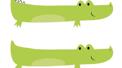 crocodiles graphisme maternelle