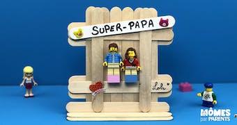 DIY: Cadeau Super Papa Lego
