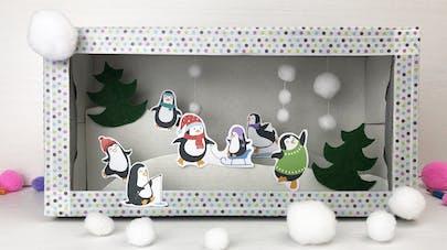 DIY : Diorama d'hiver