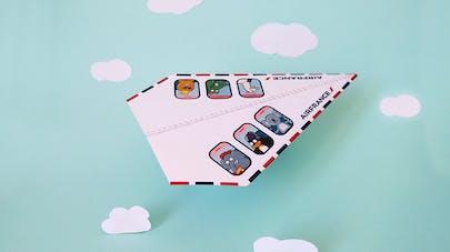 avion papier air france