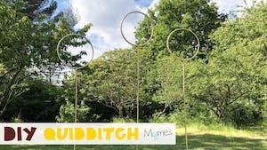 DIY : les buts de Quidditch