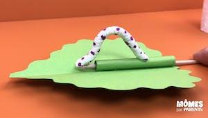 DIY: Petite chenille animée