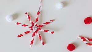 DIY: une étoile de Noël