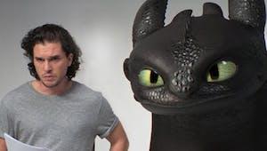 Dragons 3 : Quand Kit Harington auditionne avec Krokmou !