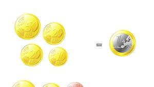 Echanger la monnaie en euro: exercice