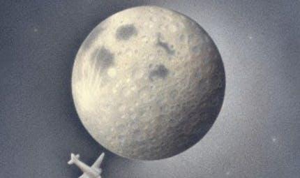 En avion vers la lune