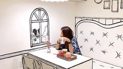 En Corée du Sud, un café nous plonge dans une bande dessinée