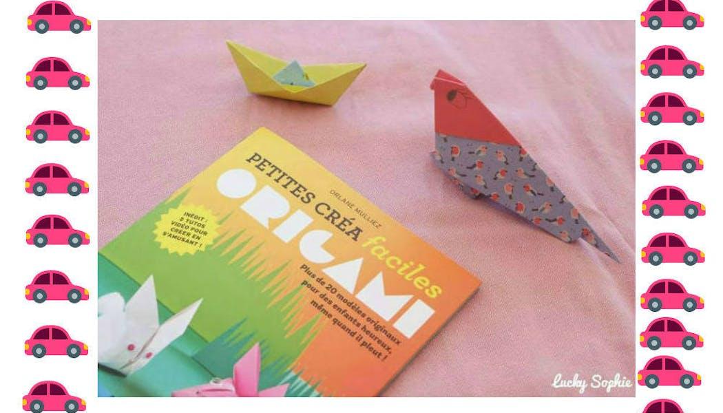 En route pour l'atelier origami !