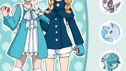 Princesses Disney dresseuses pokémon Pavlover