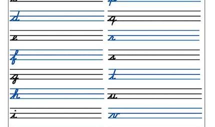 Exercice d'écriture au CP