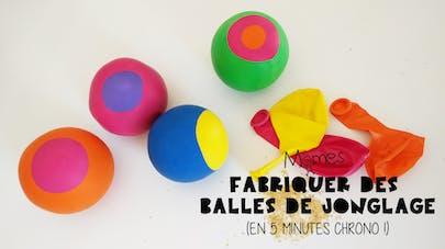 DIY balles de jonglage