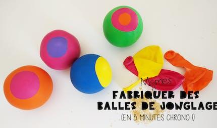 Fabriquer des balles de jonglage