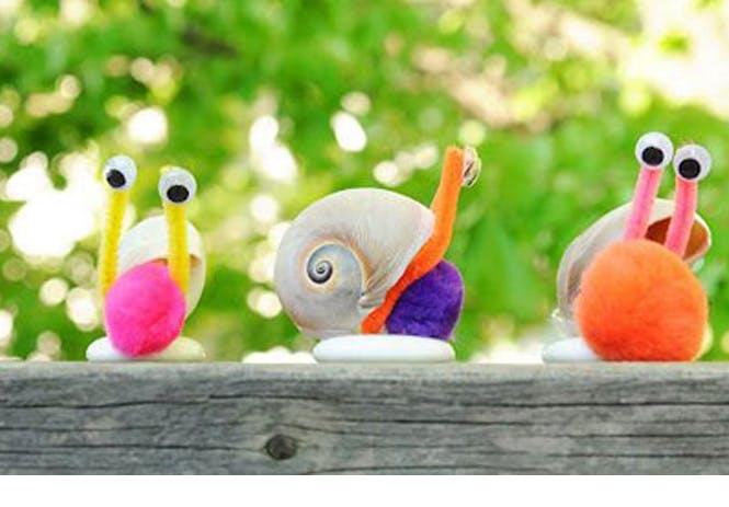 escargots coquillages