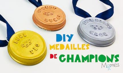 Fabriquer des médailles Sportives